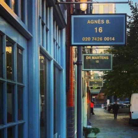 伦敦东区的商店