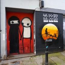 伦敦东区的街头艺术