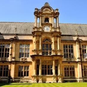 牛津大学的考试大厅