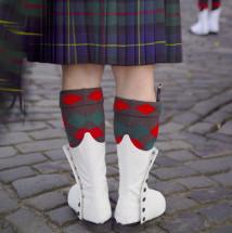 传统的苏格兰裙