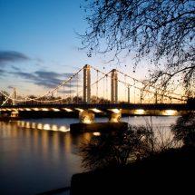 阿尔伯特桥,切尔西和肯辛顿